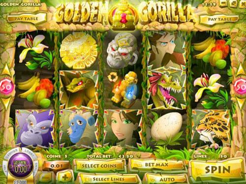 Golden Gorilla Slot