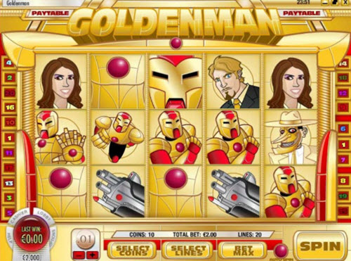Goldenman Slot