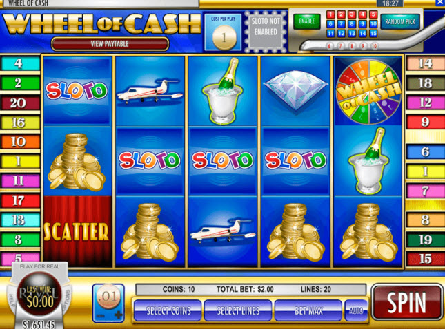 Wheel of Cash Slot