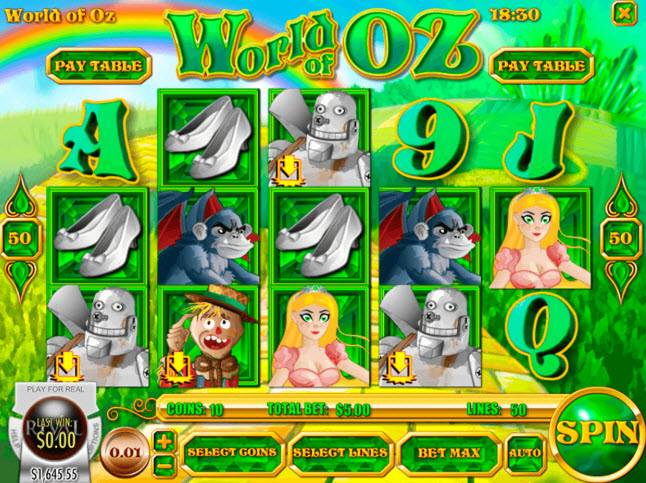 World of oz Rival